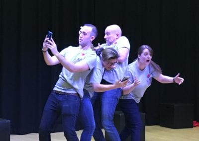 photo from Oaks Park School performance of Linked (2)