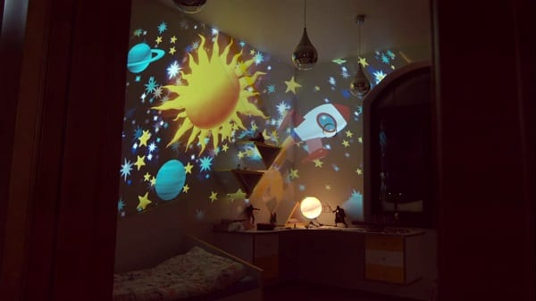 The magic room by sense sensory