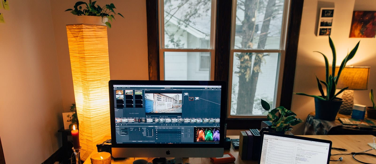 perfect editing set ups with laptops