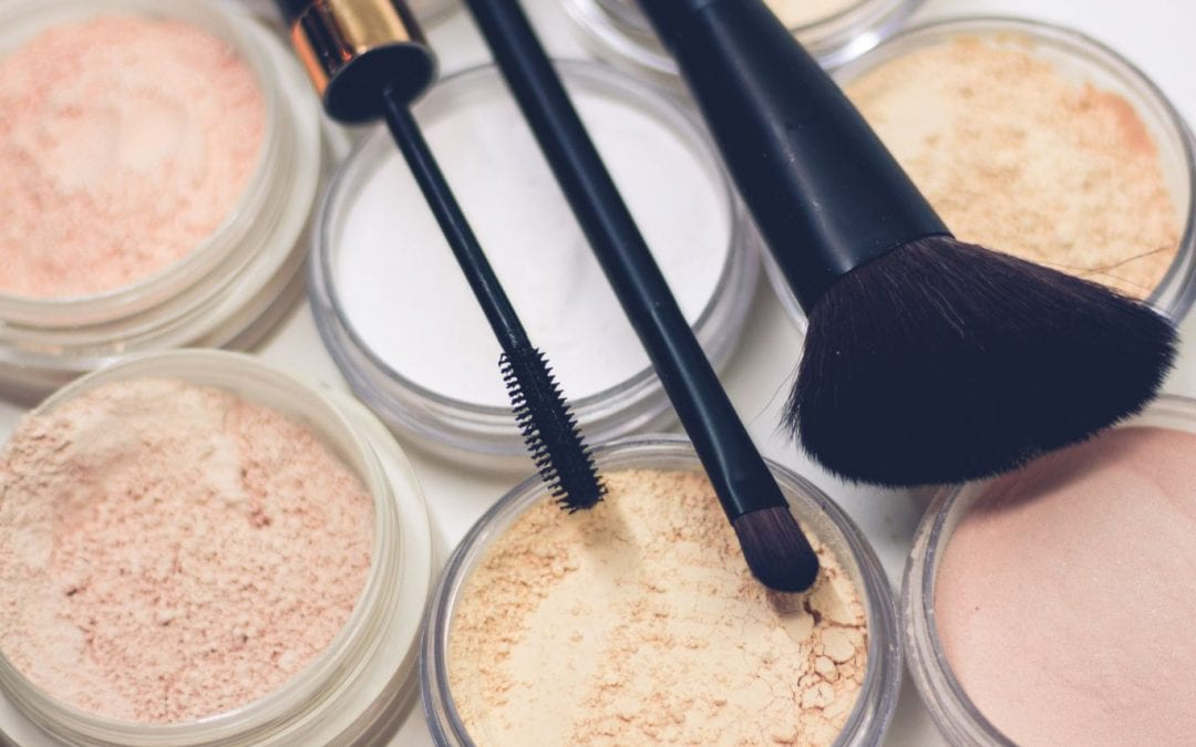 Easy make-up routine